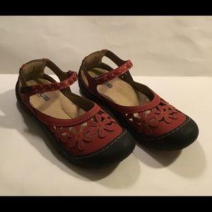 JAMBU - Wildflower Mary Jane comfort Flats, 10